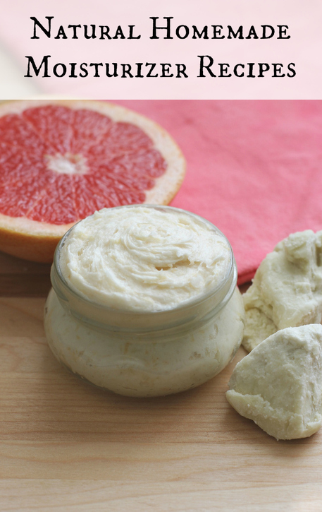 Natural Homemade Moisturizer Recipes