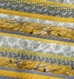 Color Trends: Gray and Yellow Quilts