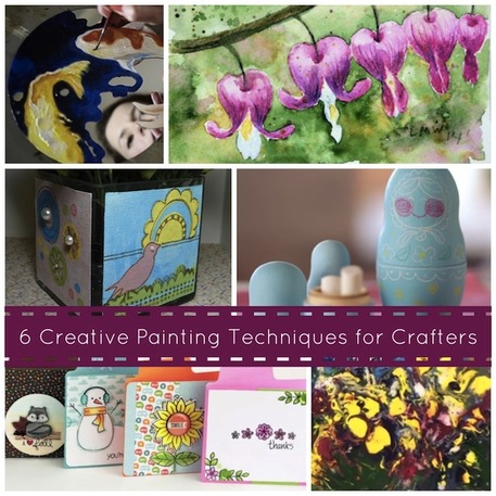 6 Creative Painting Techniques for Crafters