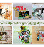 Amazing and Unconventional Scrapbooking Materials