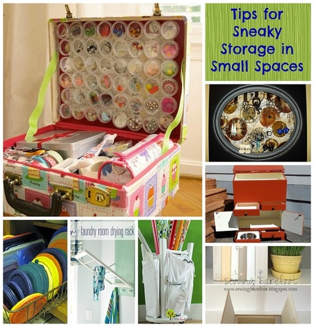 Tips for Sneaky Storage in Small Spaces