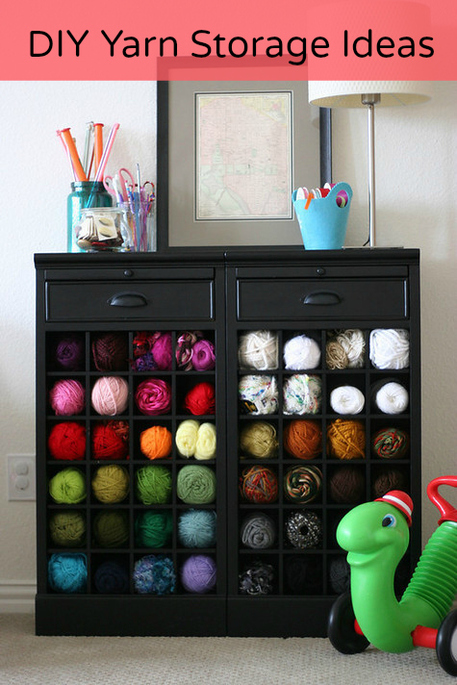 Ordinaire Yarn Storage Ideas