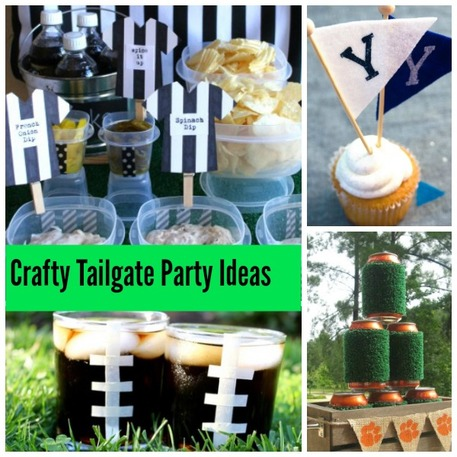 Crafty tailgating party ideas