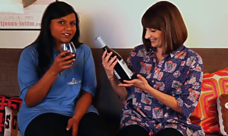Mindy Kaling, casting couch, decorative pillows
