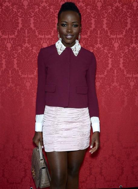 Lupita Nyong'o miu miu jacket