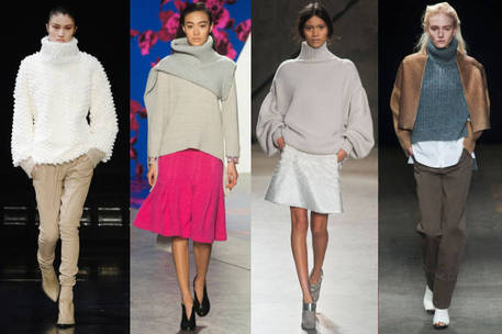 Extreme Turtlenecks — Oversized and Chunky Sweaters to Knit or Crochet