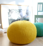 Stylish and Snuggly Knit Pillows and Softies