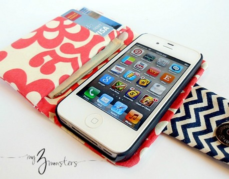DIY iPhone carrying case