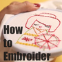 free videos to learn embroidery