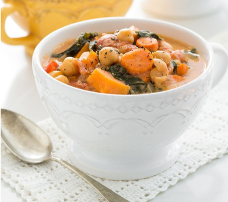 Vegan Gluten-free Vegetable Soup Recipe