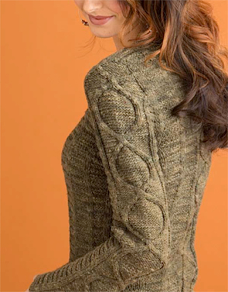 vortex sweater no sew knitting pattern