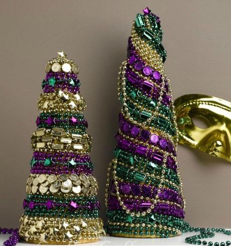 Diy Mardi Gras Decorations Laissez Les Bons Temps Rouler