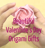 Beautiful Valentine's Day Origami to Impress the Ones You Love (VIDEOS)