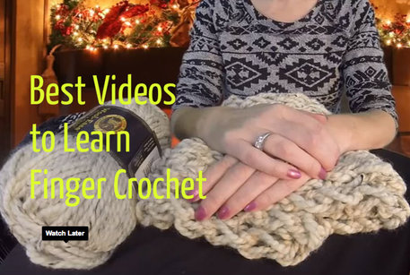 finger crochet videos tutorial