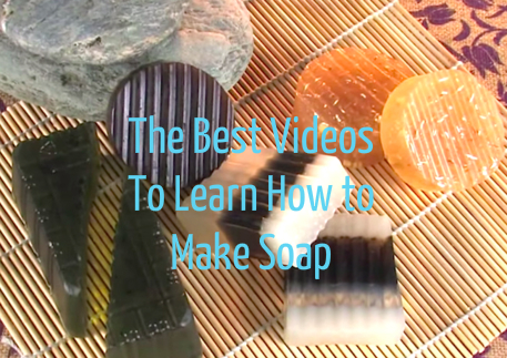 videos to make homemade soap