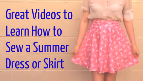 best videos to make an easy summer dress