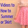 best videos to make an easy summer dress