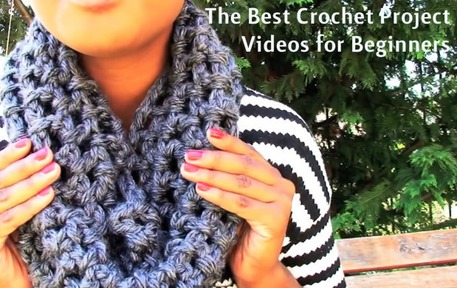 beginner crochet projects videos