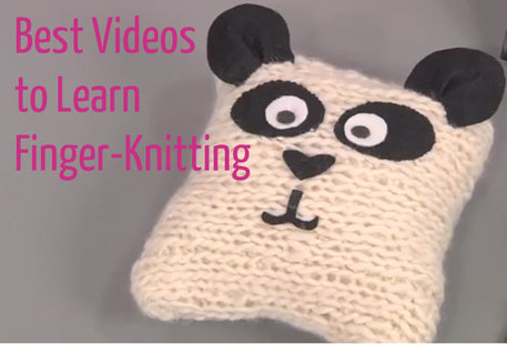 Best videos for finger knitting (and projects)