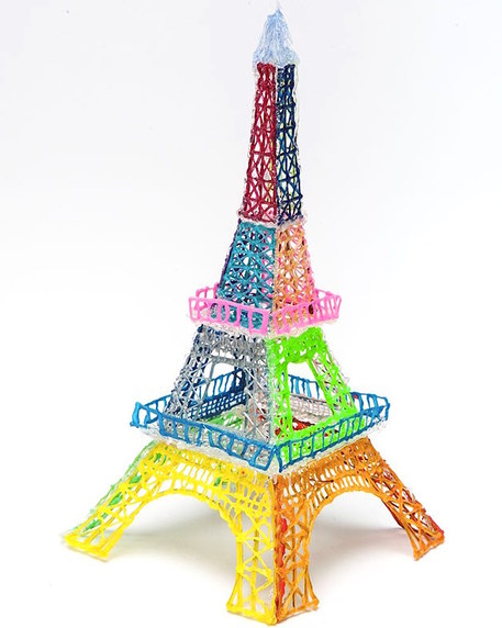 3doodler eiffel tower sculpture