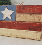Patriotic Projects Made with Unusual Materials