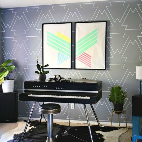 Weekend Projects Living Room Walls