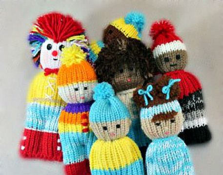 Loom Knit Dolls