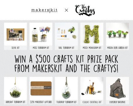 Win Craft Kits from Makers Kit