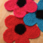 flower scrubbie crochet pattern