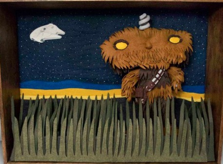 Felt Project Star Wars Wookie