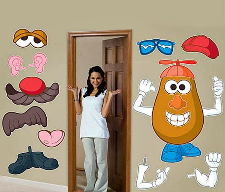 Mr. Potato Head Party Wall Decal