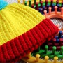 Loom Knitting Hat