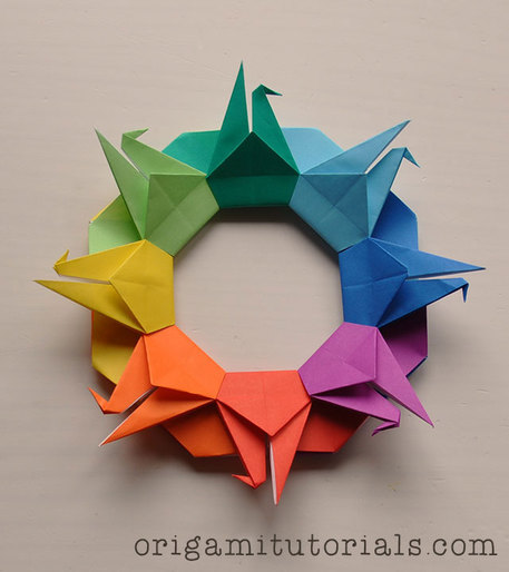 How To Make a Paper Crane: Origami Step by Step-Easy - YouTube | 514x457