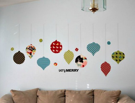 Fabric Ornament Wall Decals