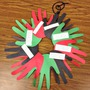 Kwanzaa Hand Wreath