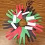 Kwanzaa Hand Wreath