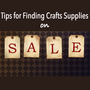 cheap crafts supplies and discounts