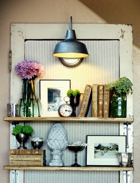 Vintage Door Shelf
