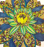 Color Away the Winter Blues with Adult Coloring Books