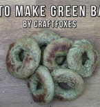 How to Make Green Bagels (VIDEO)