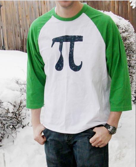 Paint Pi Symbol Shirt