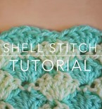 How to Crochet in a Shell Pattern or Solid Shell Stitch