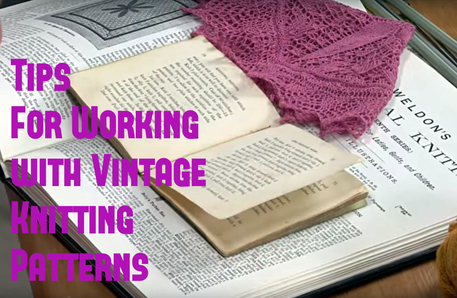 translating vintage knitting terms and abbreviations
