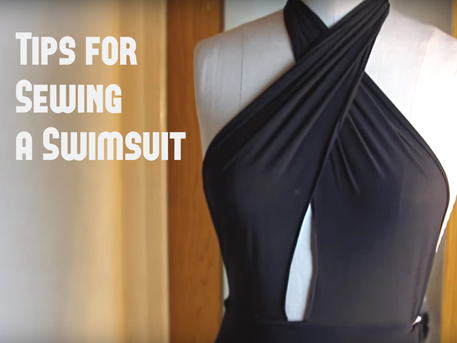 sewing a swimsuit tips