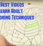 The Best Videos to Learn Adult Coloring Book Techniques