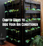 4 DIY Ways to Hide and Beautify Your Air Conditioner