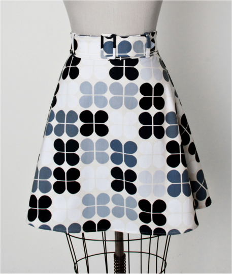Mod A-line skirt 1960s