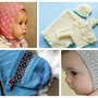 vintage knitted baby bonnet pattern free