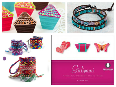 wrap bracelets and origami