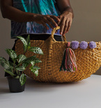 Make It or Buy It? Domino's Embellished Woven Baskets